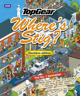 Top Gear: Where's Stig? Glovebox Edition - published by BBC Books 15th September | by Rod Hunt Illustration