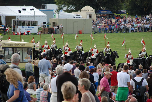 Chatsworth Country Fair Grand Ring Timetable