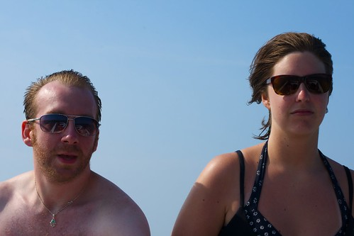 Jason and Jen, post tubing | by JenGallardo