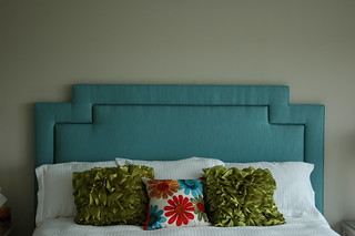 Custom Stepped Headboard, King Size | by DesignFolly.com