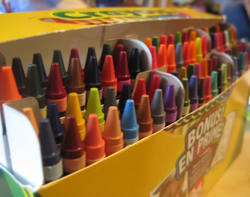 Aug14-Crayons1 | by crazyknittinglady