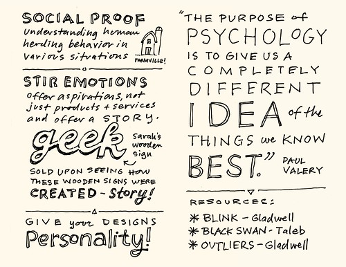 AEA Minneapolis Sketchnotes: Sarah Parmenter - 33-34 | by Mike Rohde