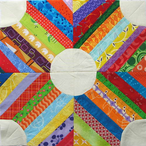 Curved Piecing Strings | by KCQuilts