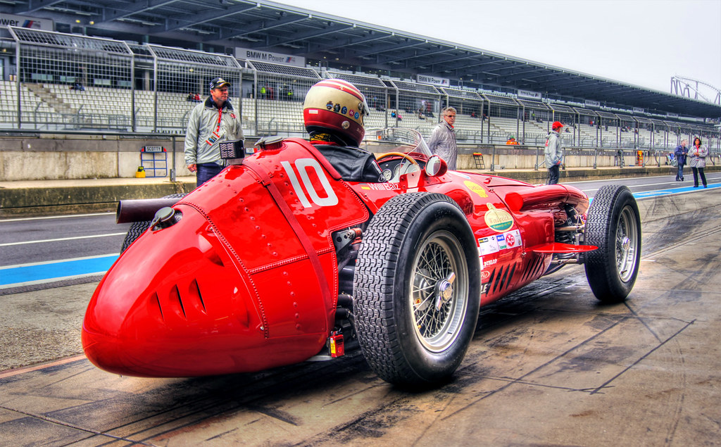 Maserati >> Maserati 250F | Maserati 250F 2533 racing in 1955 F1 season.… | Flickr