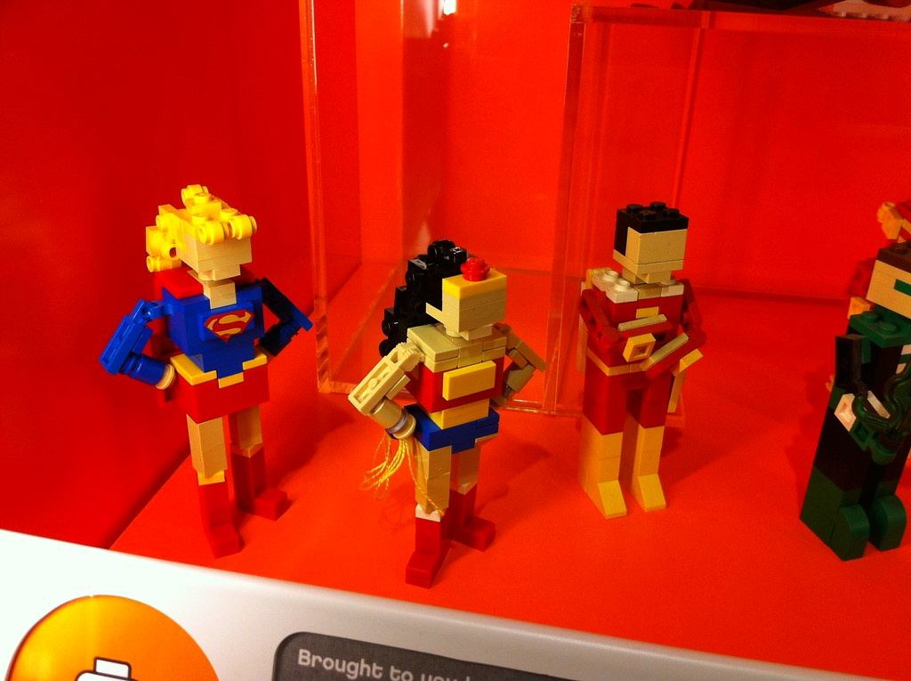 Building communities with Lego: let the users do the heavy lifting