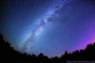 "Stars in the Milky Way, 1 of 2 | by IronRodArt - Royce Bair (""Star Shooter"")"