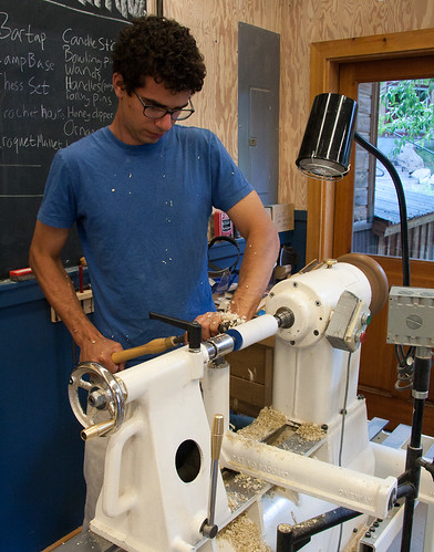 Jason Schneider's Woodturning for Beginners workshop | by Anderson Ranch Arts Center