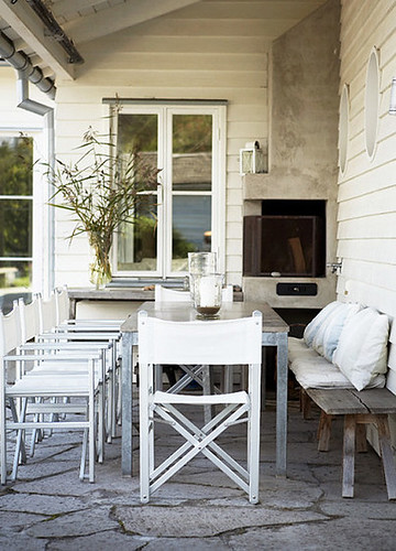scandinavian summer house | by the style files