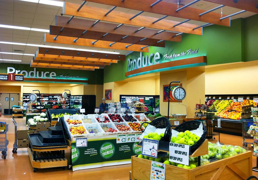 Interior Grocery Store Design Supermarket Decor Design