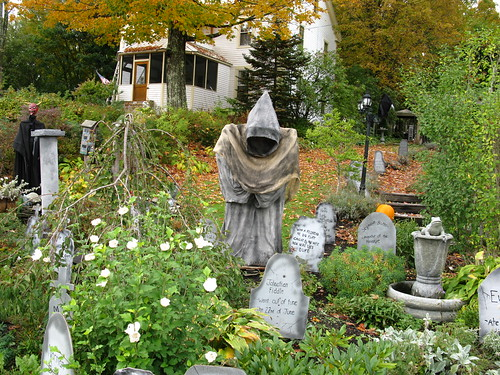 Ghoul, Reaper and Devil among Gravestones | by Gwen 's