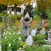 Ghoul, Reaper and Devil among Gravestones