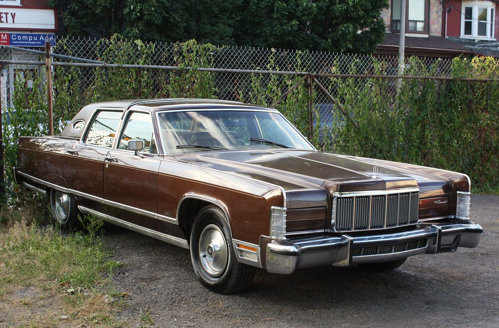 1976 Lincoln Continental Town Car Richard Spiegelman Flickr