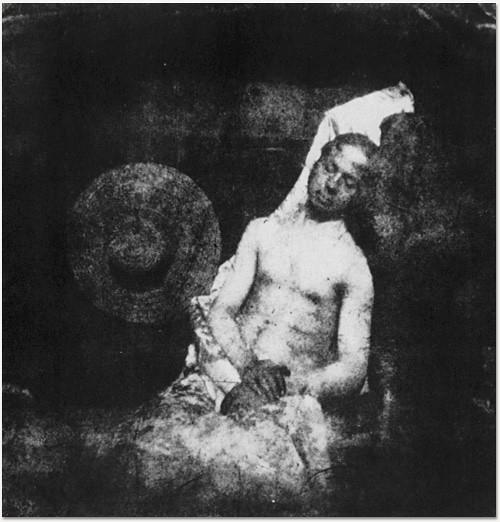 Hippolyte Bayard Self Portrait As A Drowned Man 1840 Di Flickr