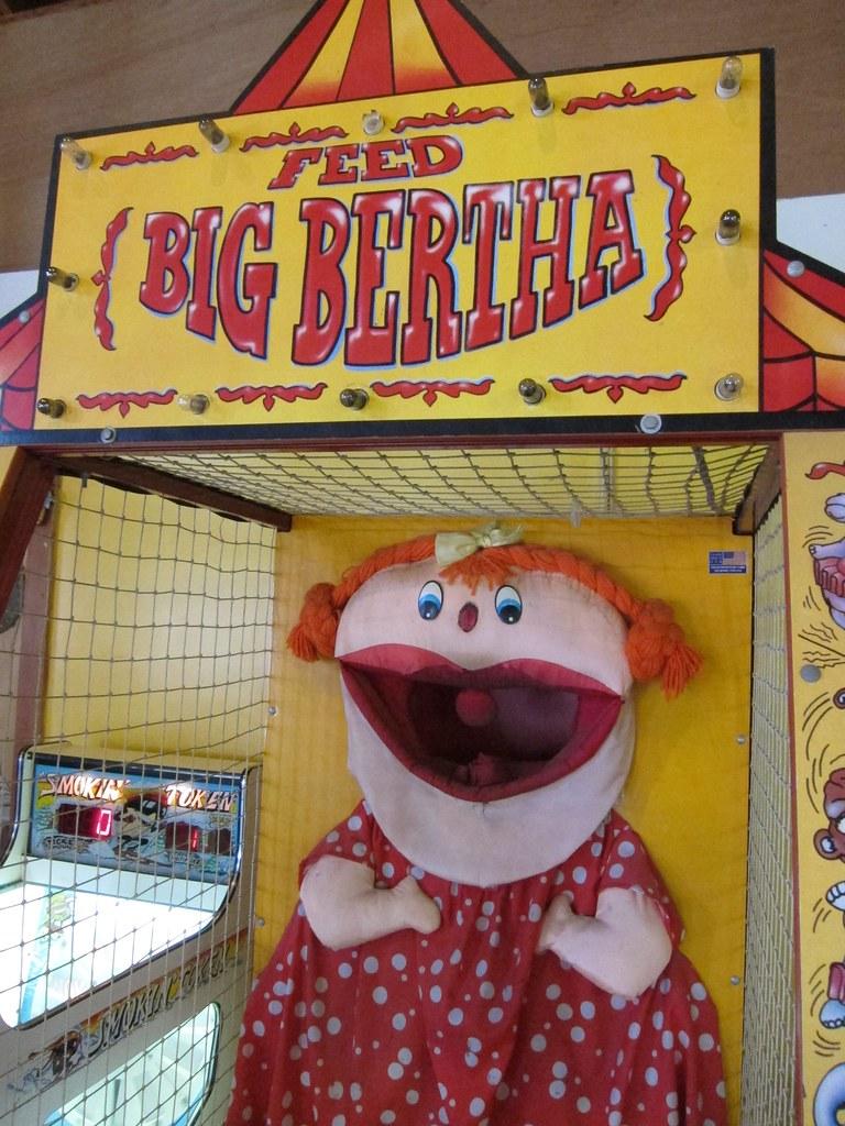 Feed Big Bertha A Game At The Cape Cod Carousel