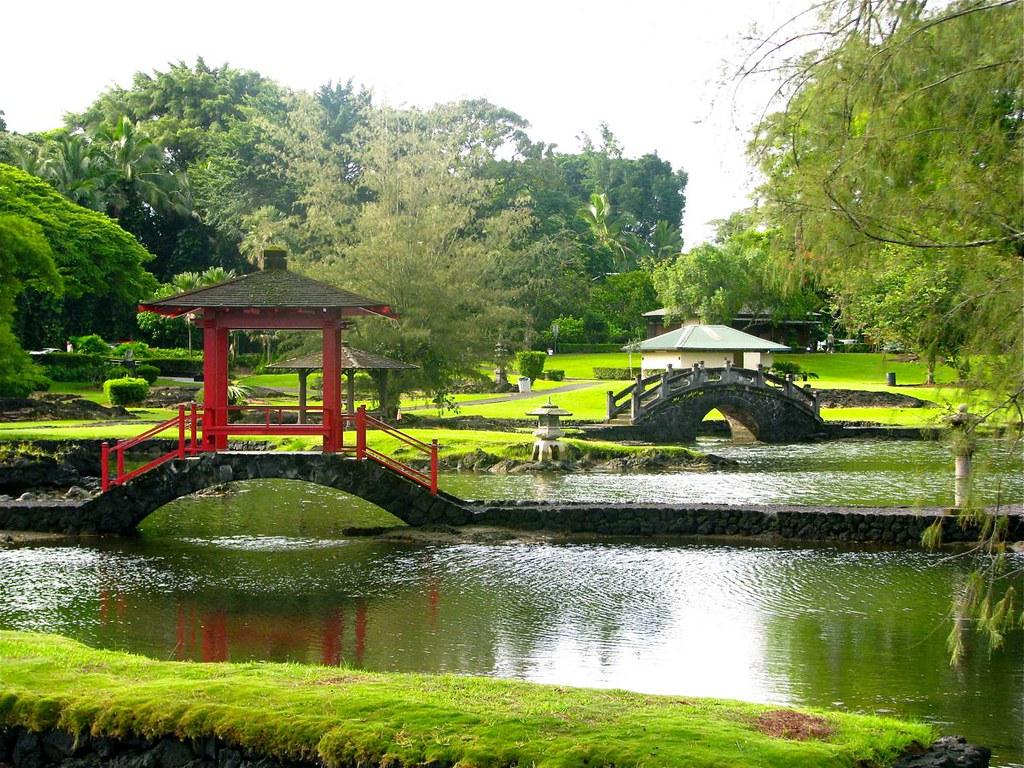 Queen Liliuokalani Park Hawaii Island