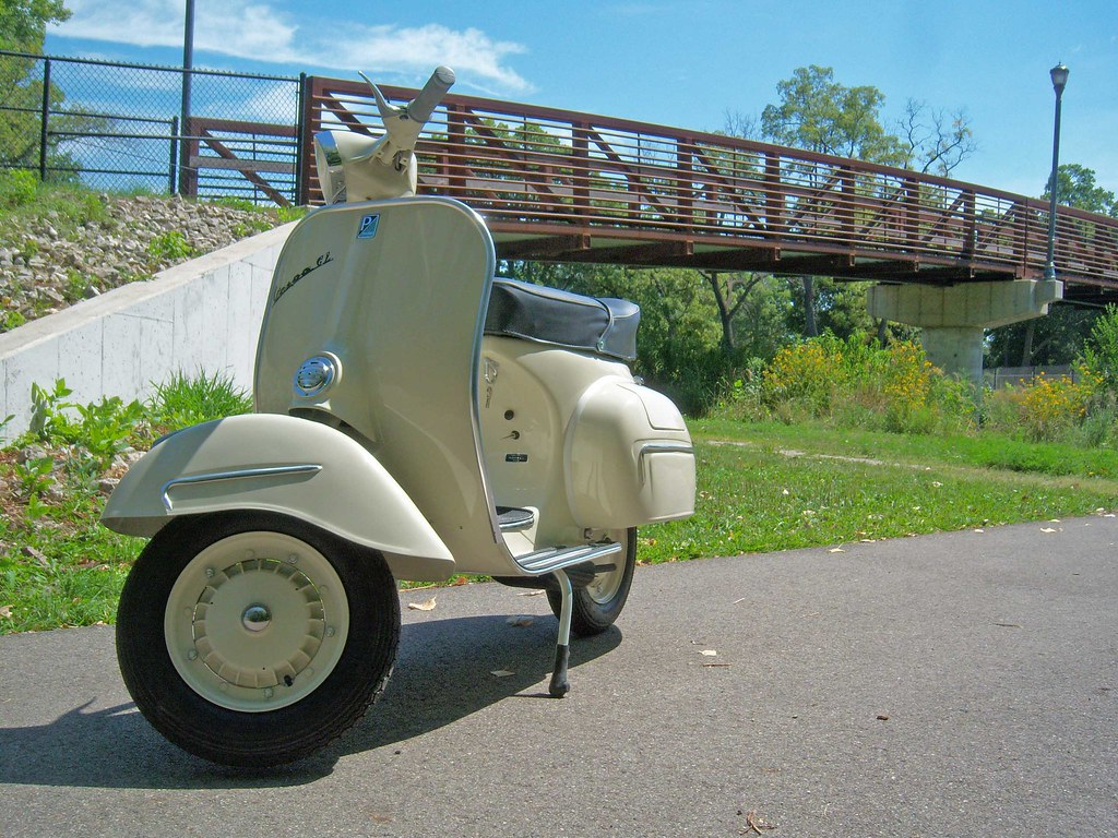 1964 Vespa Gl Done 4 Green Tree Scooters Flickr