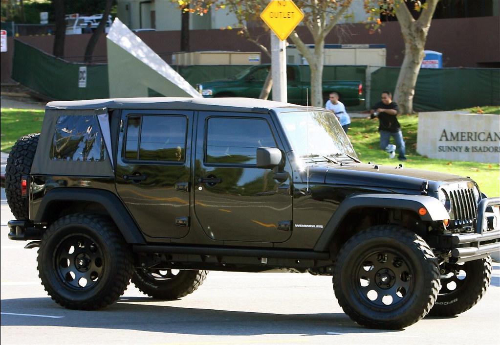 David Beckhams Jeep Wrangler Unlimited  MWButterfly  Flickr