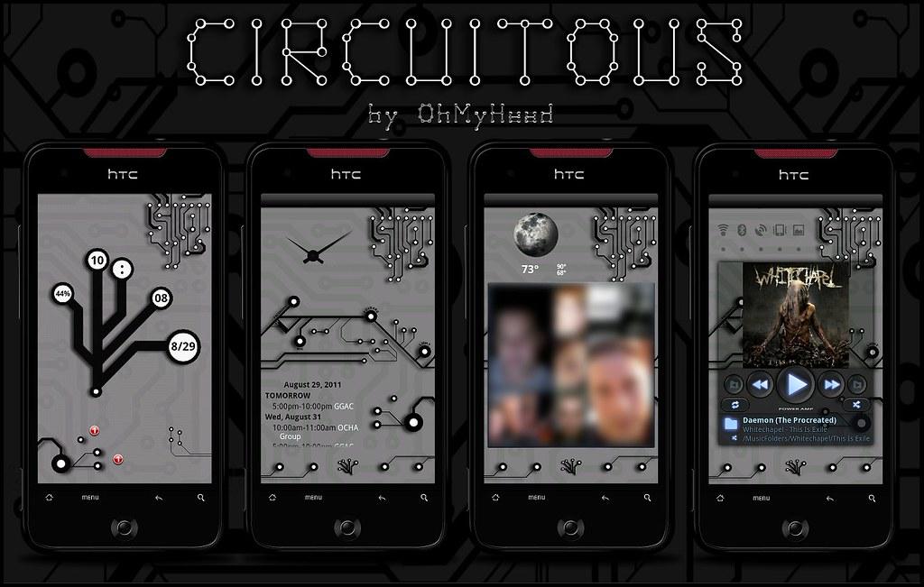 Circuito Ups : Circuitous screens screen lockscreen i made that