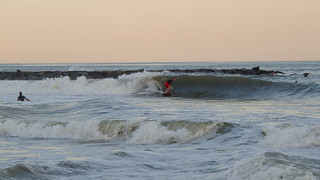 Hurricane Irene Surf - 29 August 2011 - Evening Session | by 8million