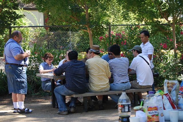 poker games begin in the park