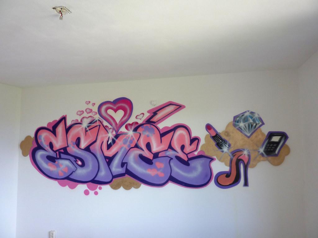 diva kamer esmee graffiti wanddecoratie flickr