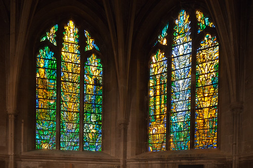 Contemporary glass at Tewkesbury Abbey by Tom Denny | by fotofacade