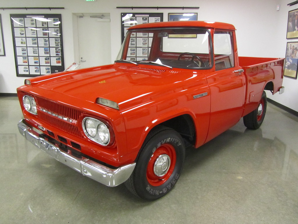 Toyota Stout Shortbed Pickup Truck 1967 Toyota U S A