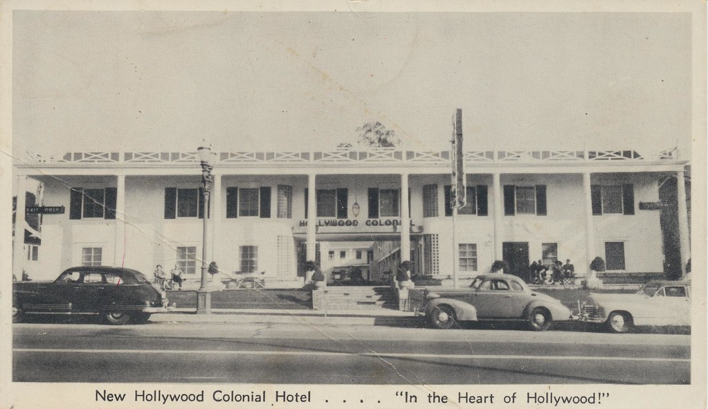 Hollywood Colonial Hotel - Hollywood, California