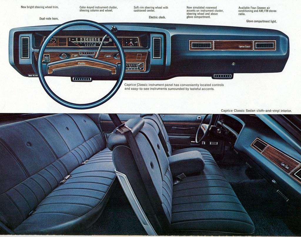 1976 Chevrolet Caprice Sport Sedan Standard Interior Flickr