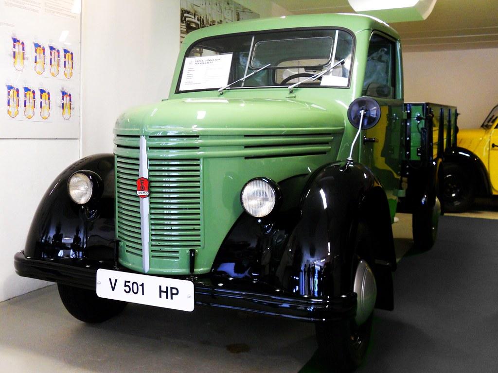 Framo V 501 1941 500 Cc 15 Ps 2 Cylinders Air
