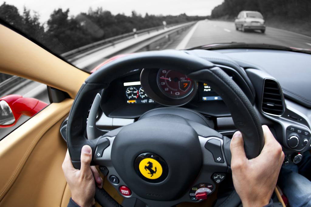 Ferrari 458 Cockpit Christopher W 246 Lner Hanssen Flickr