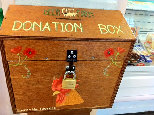 Donation box, Deen City Farm | by HowardLake