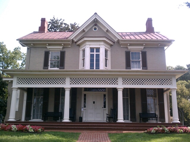 Frederick Douglass Home In Dc After Going On The Tour