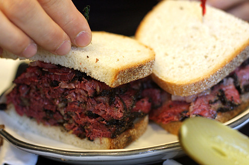 pastrami sandwich | by David Lebovitz
