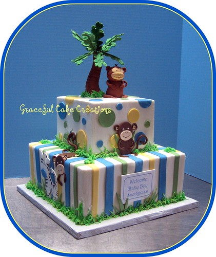 Baby Shower Cake Decorating Pictures