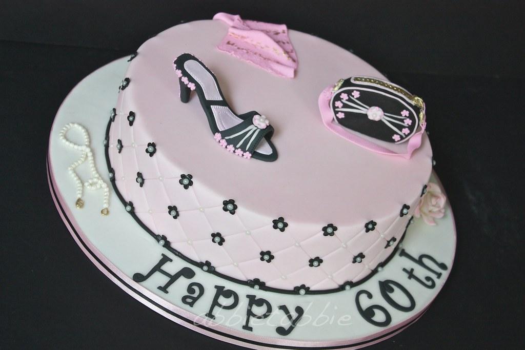 60th Birthday Cake A Dark Chocolate Cherry Ripe Mud C Flickr