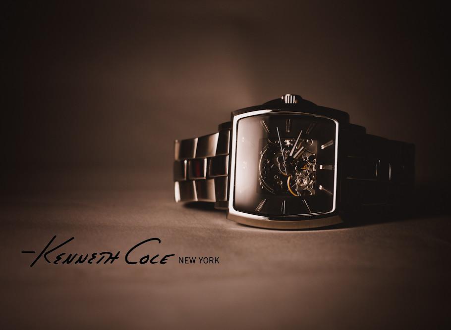Kenneth Cole Watch Ad trial | Lighting setup: One YN-465 ...