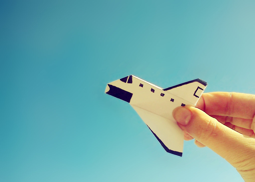 space shuttle origami - photo #26