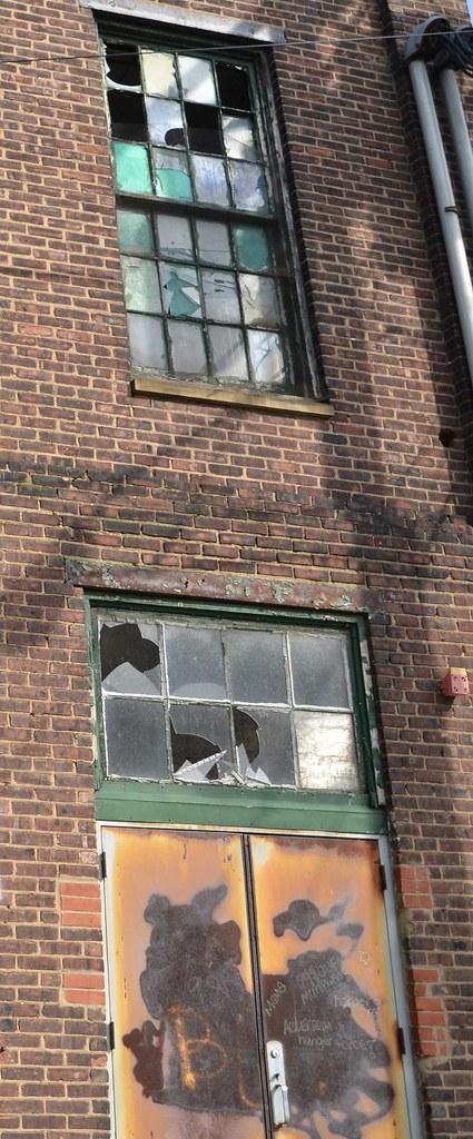 Window Door Abandoned Factory In Trenton Nj Originally Flickr