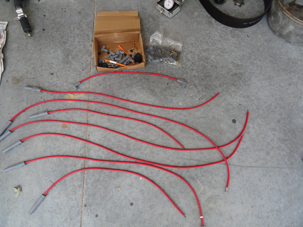7 MSD Plug Wires $35 | New set minus one wire. Used as spare ...
