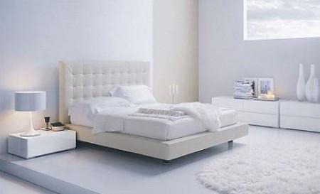 Algunas ideas para decorar tu dormitorio en color blanco for Disena tu dormitorio 3d