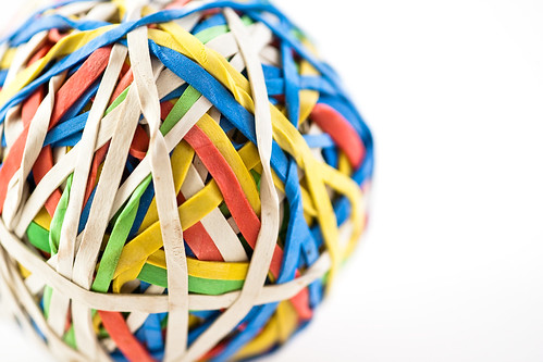 free rubber band ball wallpaper | by bethers