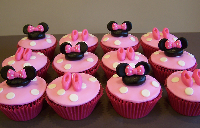 Muffins de Minnie Mouse - Imagui