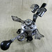 GIZMO - Robot Dragon Jewelry Box Assemblage Sculpture - Reclaim2Fame