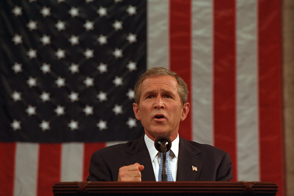 President George W. Bush Addresses Joint Session of Congress, 09/20/2001.