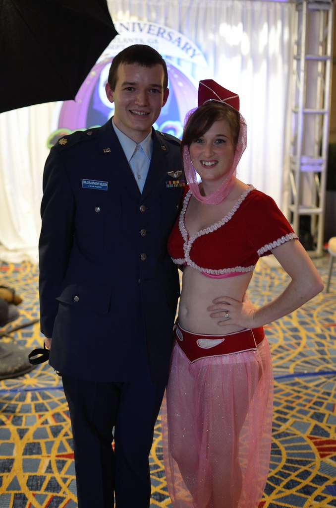 major anthony nelson and jeannie i dream of jeannie