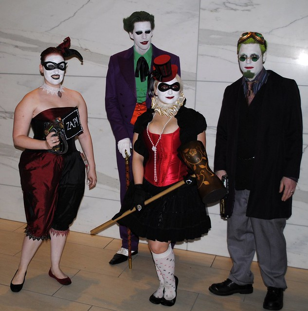Orheyn Lay Lay Joker Version Song Download: 2 Steampunk Harley Quinns And 2 Jokers
