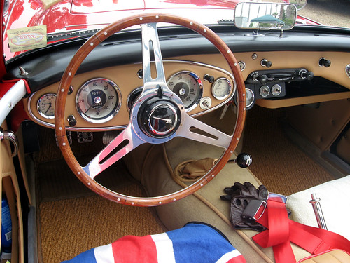 1960 Austin Healey 3000 Dash Ate Up With Motor Flickr