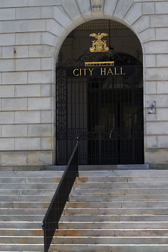 City Hall Entrance | by Tom Whitney Photography