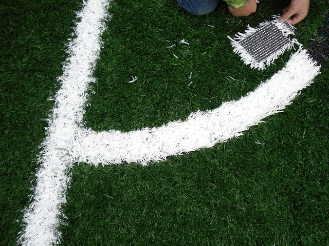 3g synthetic turf line marking flickr photo sharing